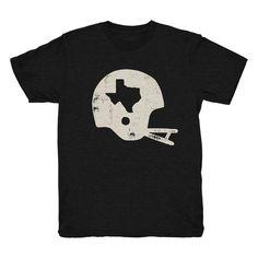 Football Helmet T-shirt (4 Color Options)