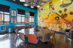 johnny depps $12.7 million penthouse in LA features huge OSGEMEOS mural