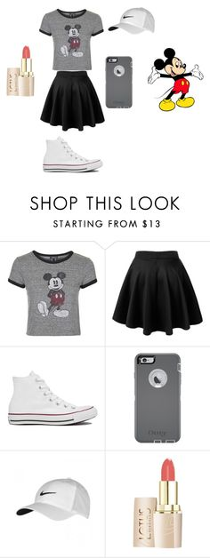 """""""Trip To Disney?"""" by allison7071 on Polyvore featuring Topshop, Converse, OtterBox, NIKE and Disney"""
