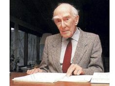 Jan Hendrik Oort (1900-1992)  was a Dutch astronomer who made significant contributions to the understanding of the Milky Way and who was a pioneer in the field of radio astronomy. The Oort Cloud is named for him, as he theorized the existence of this distant reservoir of long period comets.