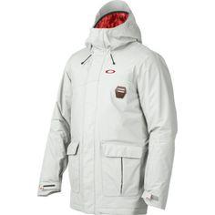 Oakley Jeda Jacket - Men's Crystal Gray, M Snowboarding Men, Sports Jacket, Outdoor Gear, Oakley, Rain Jacket, Windbreaker, Raincoat, Jackets, Crystal