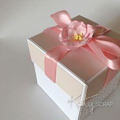 18K19/KRABIČKA/svatební na peníze pudrová IHNED Decorative Boxes, Container, Self, Decorative Storage Boxes