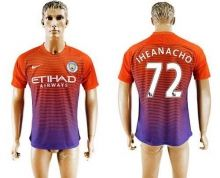Manchester City #72 Iheanacho Sec Away Soccer Club Jersey
