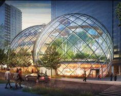 nbbj adds glass biospheres to seattle amazon campus, to be completed by 2016
