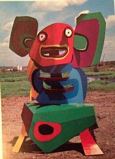 sculpture by karel appel
