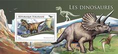Post stamp Togo TG 15106 bDinosaurs (Tyrannosaurus rex)