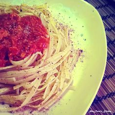 PanDora's Kitchen: Tuna and pasta..It smells sea! An extremely light summer dish!
