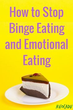 These 6 steps will help you learn how to stop binge eating and emotional eating so that you can maintain your weight and live a healthier and happier life! Weight Loss Meal Plan, Easy Weight Loss, Healthy Weight Loss, Losing Weight, Detox To Lose Weight, How To Lose Weight Fast, Stomach Fat Burning Foods, Stop Overeating, Binge Eating
