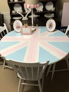 Union Jack, Table, Furniture, Home Decor, Decoration Home, Room Decor, Tables, Home Furnishings, Home Interior Design