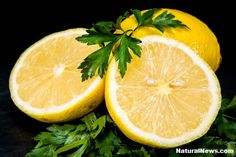 Lemon and Parsley- Medicinal Pair That Dissolves Kidney Stone Naturally