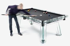 Filotto crystal pool table from www.impatia.com