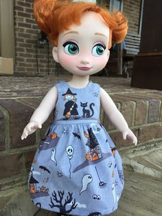 A personal favorite from my Etsy shop https://www.etsy.com/listing/250866949/disney-animator-doll-halloween-dress
