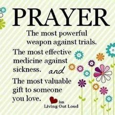 Prayer is ... ✞ - Christian Quote thought
