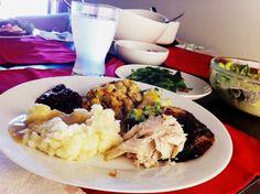 Thanksgiving dinner! My favorite meal!