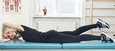 Stærk ryg på 10 minutter: 7 nemme øvelser - ALT.dk Alter, Yoga, Fitness, Acupuncture, Excercise, Health Fitness, Rogue Fitness