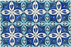 Original Art - Inspired by Portuguese tiles - on...
