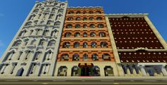 Traditional Office Building Minecraft Project