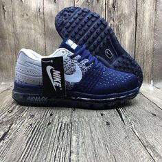 official photos 81f7a 37b9a Hot Nike Air Max 2017 Netflix LUNARLUNCH Deep Blue Grey Sneakers  Sneakers  Tenis Para Correr