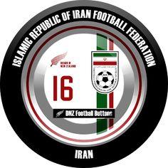 DNZ Football Buttons: Seleção do Irã