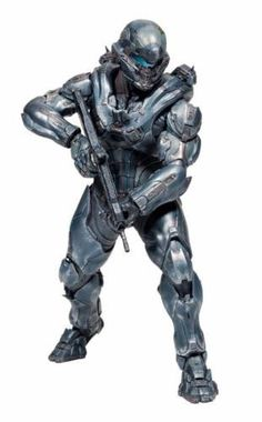 In the upcoming Halo 5: Guardians video game, a new super soldier named Spartan Locke is tasked with hunting down the legendary Master Chief after he mysteriously goes AWOL. As a game of cat and mouse unfolds between these dynamic Spartans, an alien force is rising that threatens the destructions of the entire galaxy. Introduced in the live-action series Halo: Nightfall, Jameson Locke has the combat knowledge and skills to take out any threat that crosses his path.