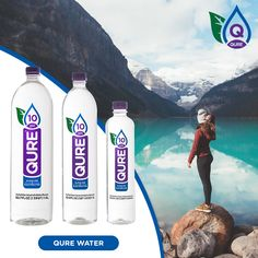 Introducing the first ever Ionized Water with Flavors! Refresh, Renew and Revitalize with our New Flavors - Cucumber Mint, Lemon Ginger, Watermelon Kiwi. Best Flavored Water, Let Them Talk, Vodka Bottle, In This Moment, Drinks, Beverages, Drink, Beverage, Drinking