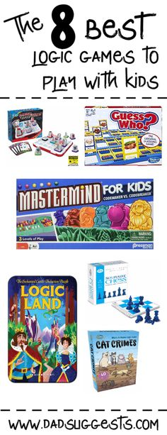 How to Teach Logic: The Best Logic Games for Kids | Dad Suggests
