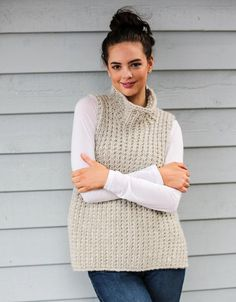 Ribbed Tunic Knitting pattern by Crucci NZ – Knitting patterns, knitting designs, knitting for beginners. Crochet Vest Pattern, Tunic Pattern, Baby Knitting Patterns, Baby Patterns, Crochet Yarn, Crochet Patterns, Arm Knitting, Knitting For Beginners, Knitting Projects