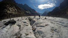 Mer de Glace. Mont Blanc trip. August 2014
