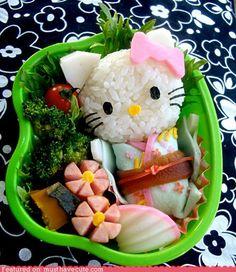 Geisha Kitty Bento