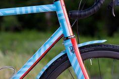 Hand Drawn Steel: Bicycle Crumbs x Franco Grimes Bicycle Paint Job, Bicycle Painting, Fly Logo, Push Bikes, Road Bike Women, Bike Frame, Colour Schemes, Custom Bikes, Custom Paint