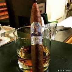 Hail, Caeser! Photo by @tedzimm #juliuscaeser #diamondcrown #cigar