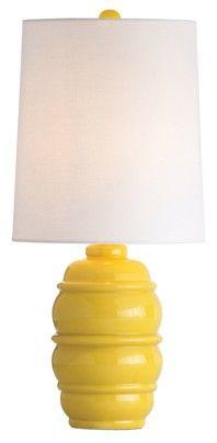 Scout Citronella porcelain lamp ($168, www.bronsondesign.com).