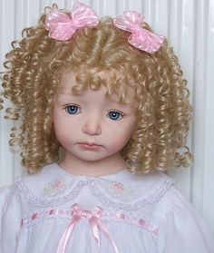 Laura, Dianna Effner doll those curls are enchanting