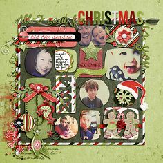 be merry! created using cornelia designs bmerry collection and brook magee's three kings templates.