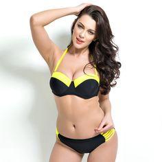 $23.00 (Buy here: https://alitems.com/g/1e8d114494ebda23ff8b16525dc3e8/?i=5&ulp=https%3A%2F%2Fwww.aliexpress.com%2Fitem%2F2016-The-New-Swimwear-Print-Bikinis-Set-Push-Up-Bikini-For-Women-Bordered-Sexy-Swimsuit-Bathing%2F32740829873.html ) 2016 The New Swimwear Print Bikinis Set Push Up Bikini For Women Bordered Sexy  Swimsuit Bathing Suit Piece Swimsuit for just $23.00
