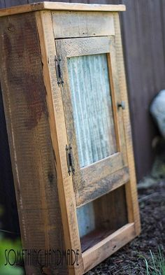 Industrial rustic barn wood cabinet with corrugated steel made from barn wood furniture western furniture farmhouse rustic furniture rustic furniture Vintage Industrial Furniture, Rustic Industrial, Rustic Barn, Rustic Furniture, Diy Furniture, Antique Furniture, Furniture Stores, Outdoor Furniture, Western Furniture