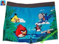 Angry Birds Rio 122 cm kąpielówki 6 lat NOWE