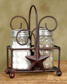 Star Salt n Pepper Caddy