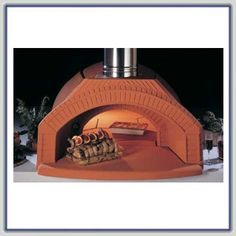 Great home wood burning pizza oven