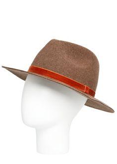 Chapeau fedora laine 30 euros