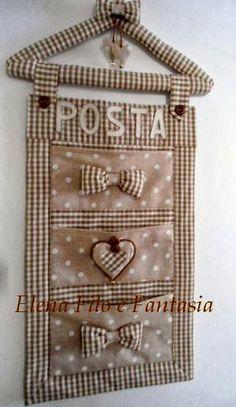 Elena Filo e Fantasia: Pannello porta.... posta !