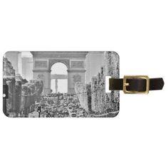 #Europe Art Brand World Top Photographer Anisia art Bag Tag - #travel #accessories