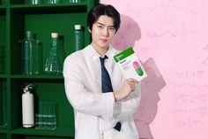 Sehun - Dr. Jart | #EXO #Sehun #엑소 #세훈 Sehun, Exo, Campaign, Coat, Jackets, Dr Jart, Maze, Twitter, Fashion