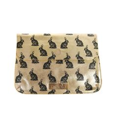 NOOKI 'ABRACADABRA' LARGE CLUTCH IN GOLD @LiliesAndDreams http://www.liliesanddreams.co.uk/clutchbags/nooki-clutch-abracadabra-gold… #stockbridge #edinburgh