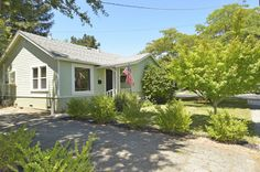 SOLD! 2087 Lee Avenue, Napa.  Listed for $373,000. Pride of ownership displayed throughout this charming two bedroom, one bath home situated on a large corner parcel. Features include nicely updated kitchen and bath, central heat and air, dual pane windows, inside laundry room, plus wonderful bonus of having a two car detached garage! Extra parking plus off street parking and great yard ideal for garden or entertaining! Updated 7/23/14