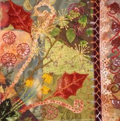 CRAZY QUILTING INTERNATIONAL: Autumn/Fall DYB - Cathy L's Blocks