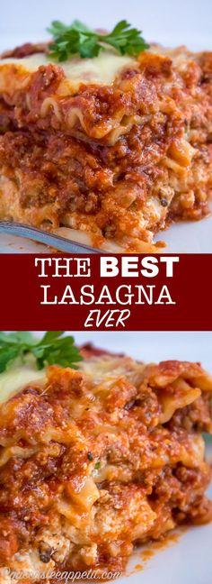THE Best Lasagna EVER ~ Recipe | Queenslee Appétit