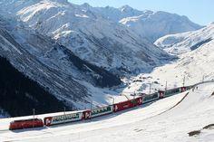 Bests scenic train trips around the world ~ World Travel Destination - Find your best Travel destination Worldwide