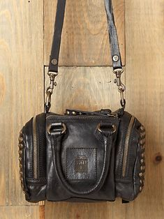 Frye brooke studded satchel at free people.  Why can't this be $50 instead of $250???