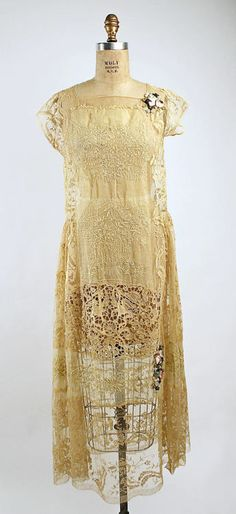 Wedding Dress  Boué Soeurs, 1927  The Metropolitan Museum of Art